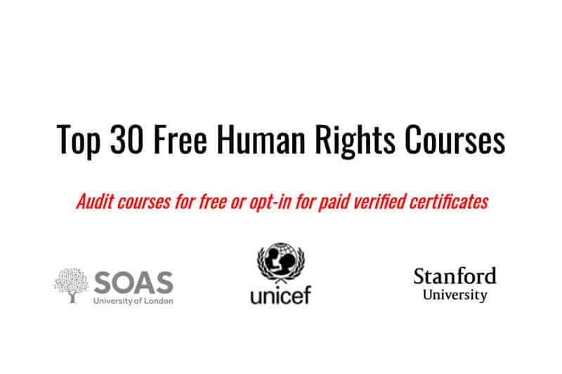 Online Courses in Human Rights – Human Rights Careers