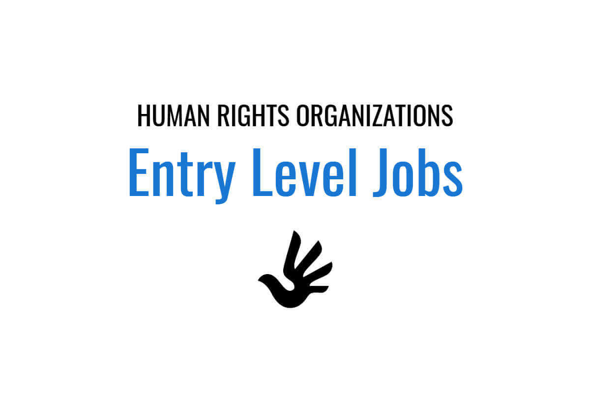10 human rights organizations offering entry level NGO jobs | Human