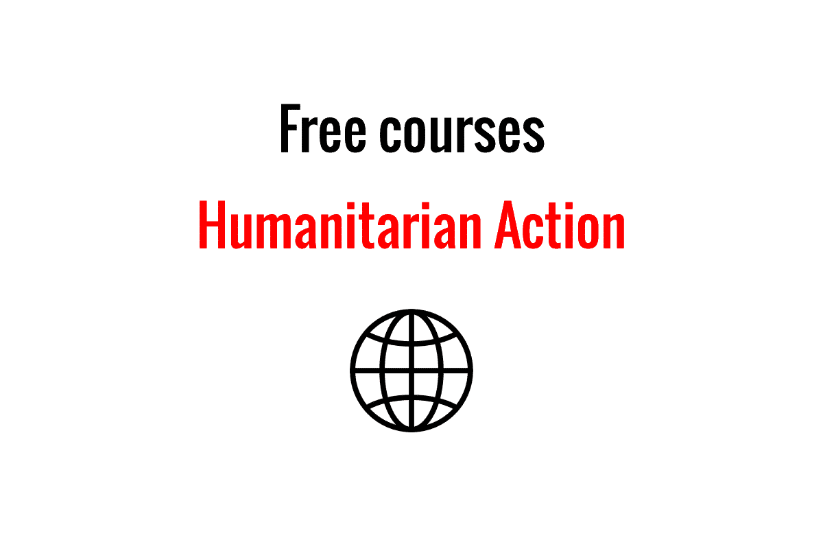 Humanitarian Courses online