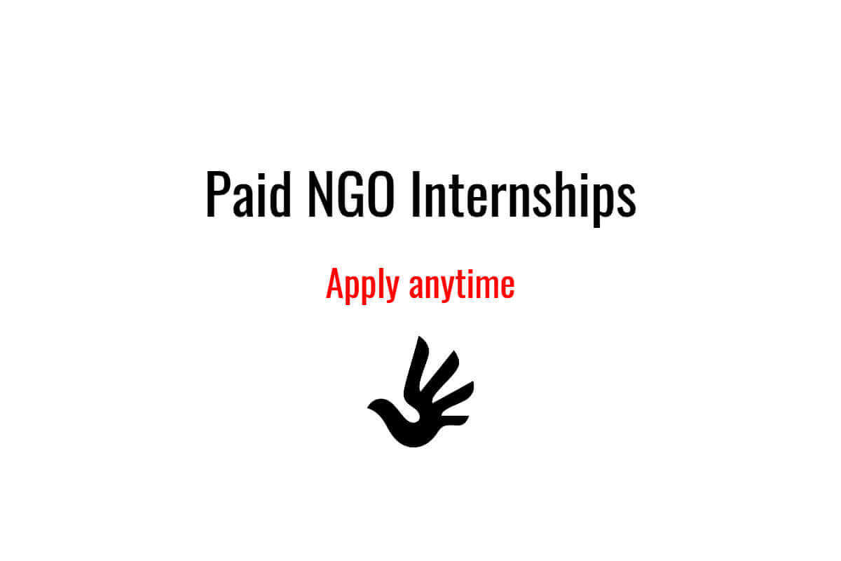 5 Paid NGO Internships that are Open for Applications All