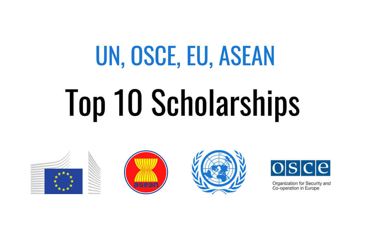 Top 10 scholarships offered by UN, OSCE, EU, ASEAN | Human Rights