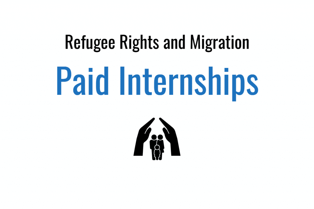 Social Work Internships Summer 2020.Paid Internships Working With Refugees And Immigrants