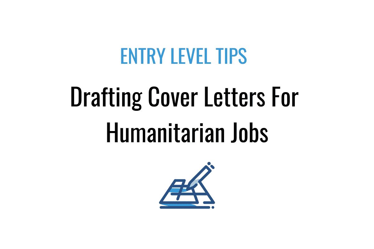 Cover Letter For A Humanitarian Job
